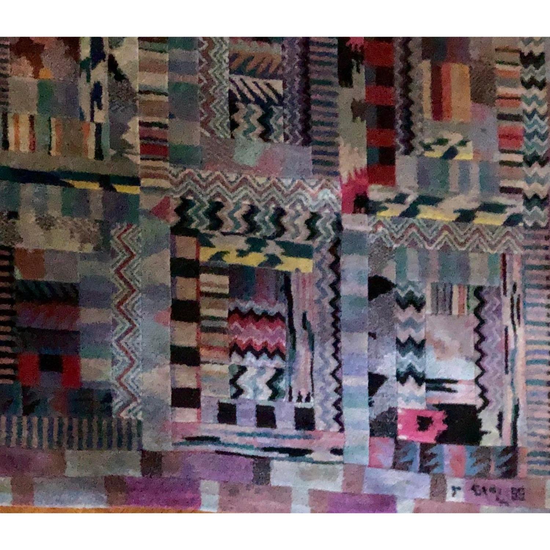 Vintage 1989 Original Authentic Missoni Rug - image-3