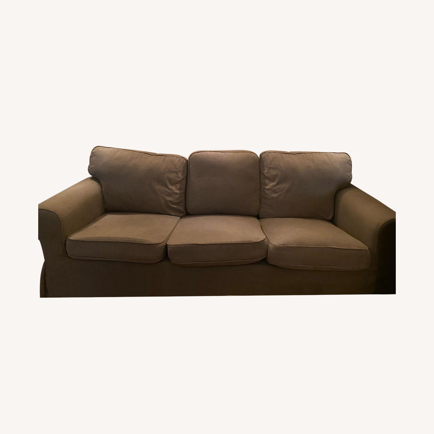 IKEA Grey Couch - image-0