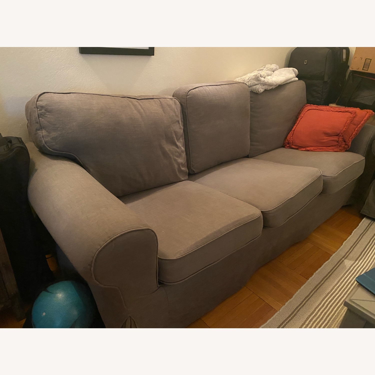 IKEA Grey Couch - image-3