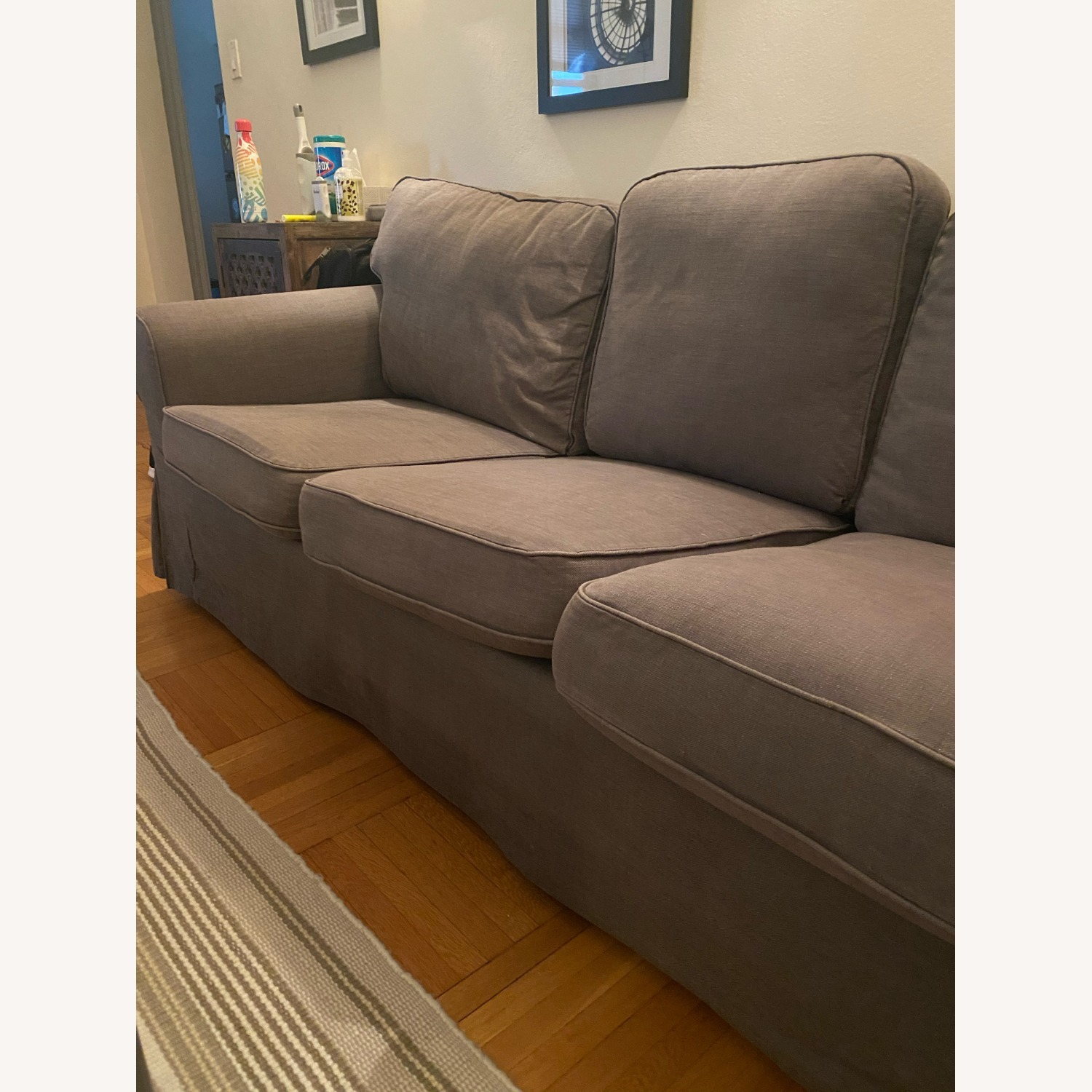 IKEA Grey Couch - image-2