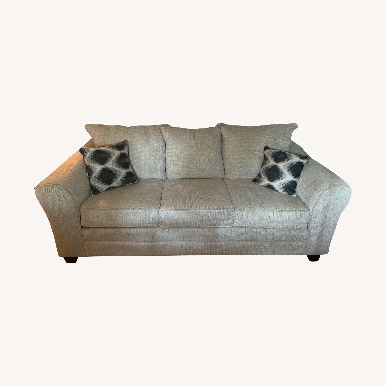 Bob's Discount Adrina Taupe Sofa - image-0