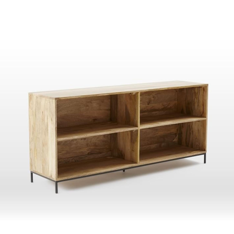 West Elm Industrial Storage Bookcase, Mango - image-1