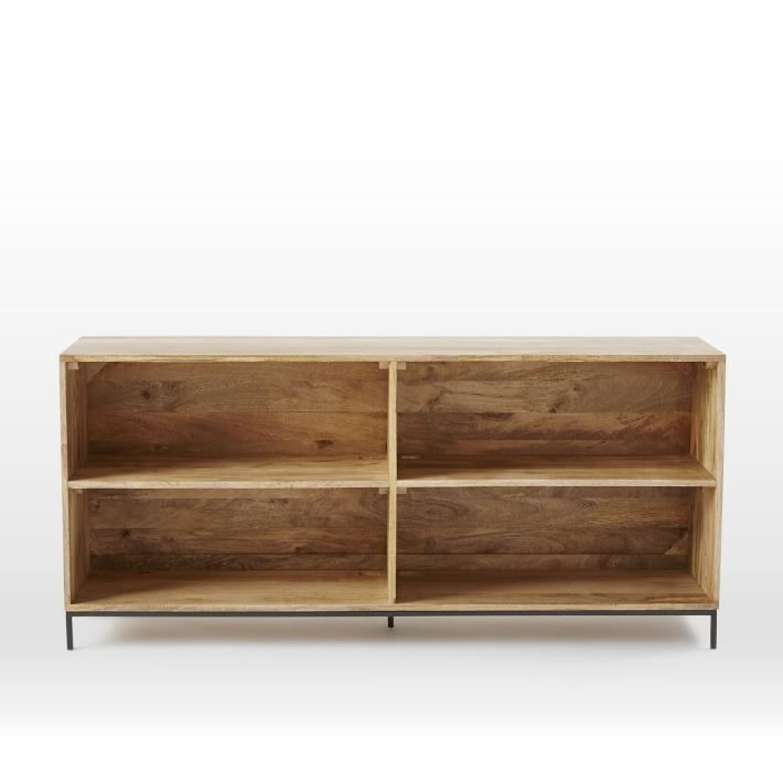 West Elm Industrial Storage Bookcase, Mango - image-3