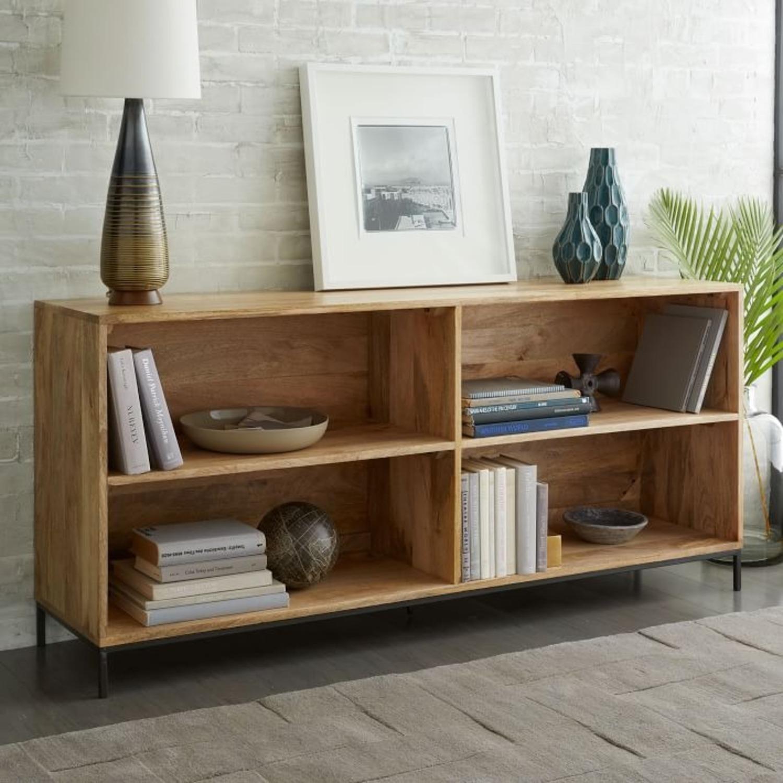 West Elm Industrial Storage Bookcase, Mango - image-2
