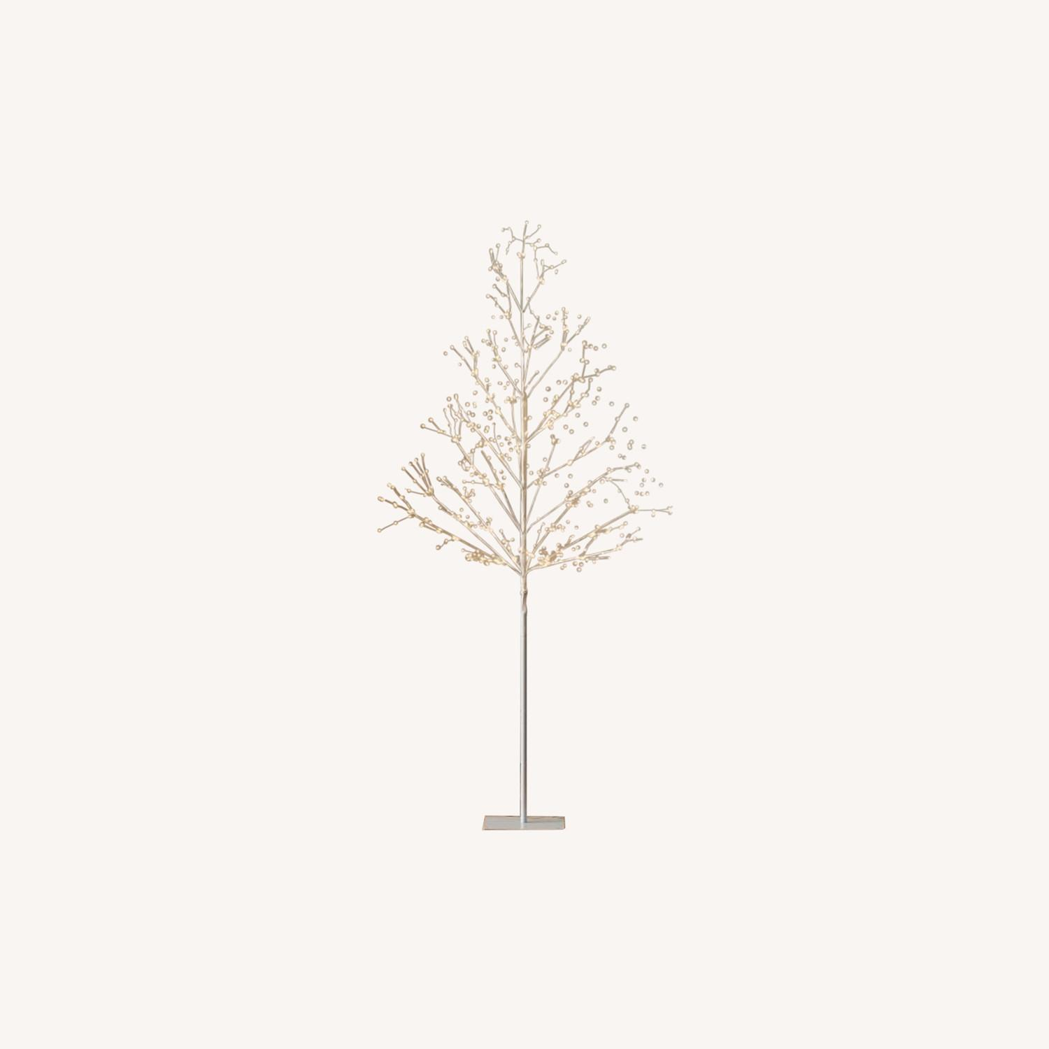 West Elm LED White Tree - image-0