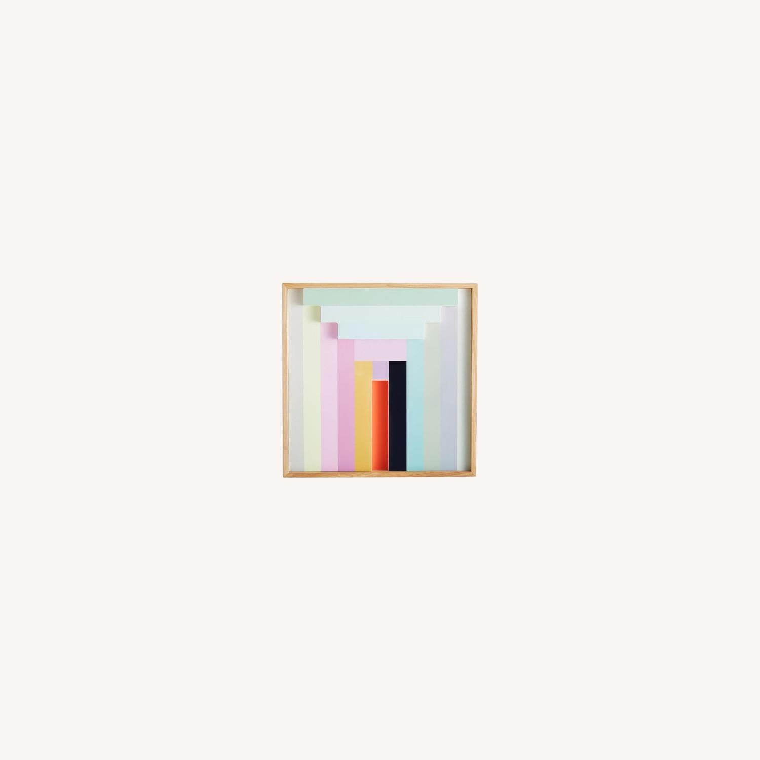 West Elm Margo Selby Colorblock Lacquer Wall Art - image-0