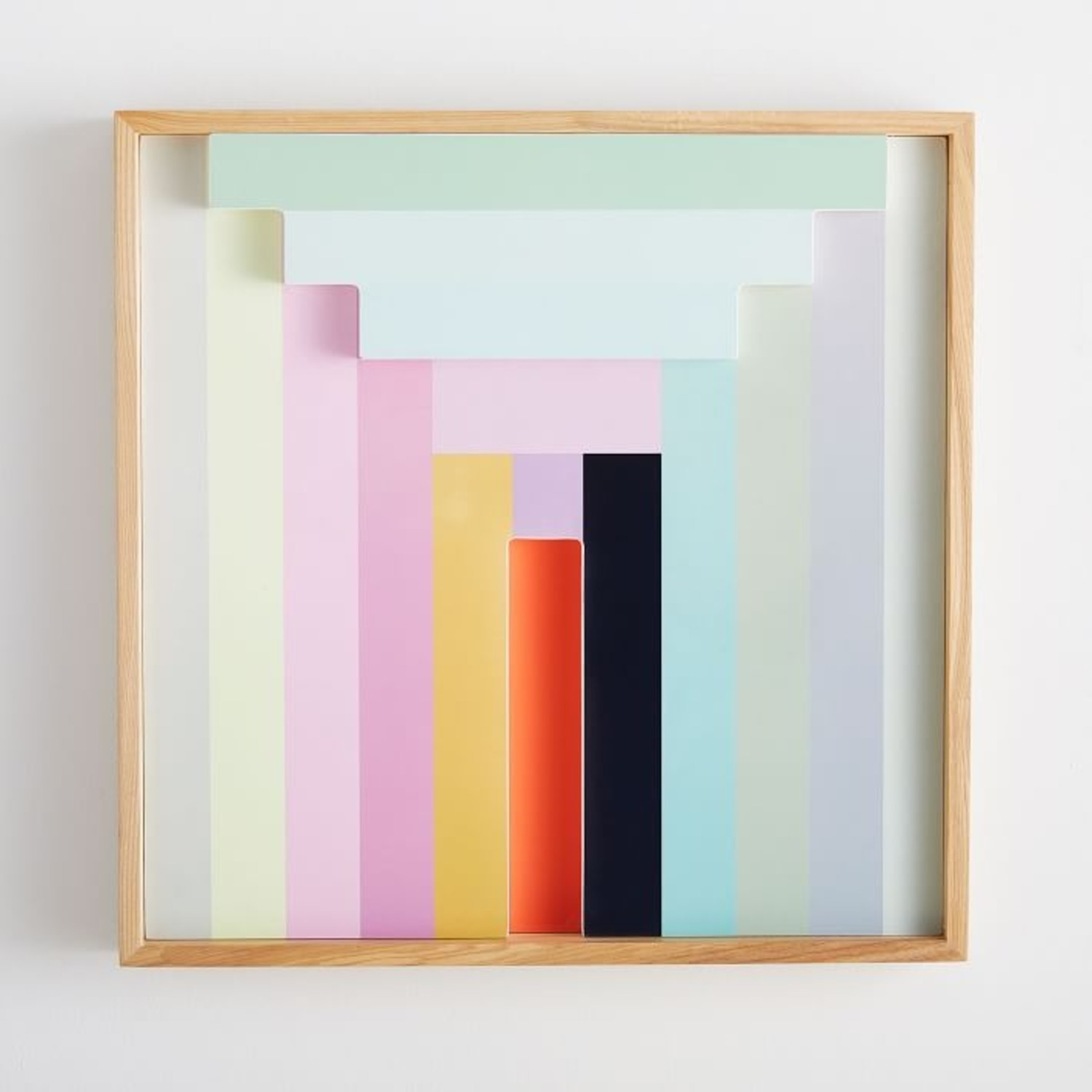 West Elm Margo Selby Colorblock Lacquer Wall Art - image-2