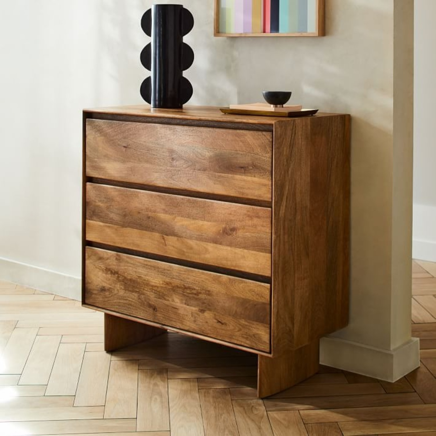 West Elm Margo Selby Colorblock Lacquer Wall Art - image-1
