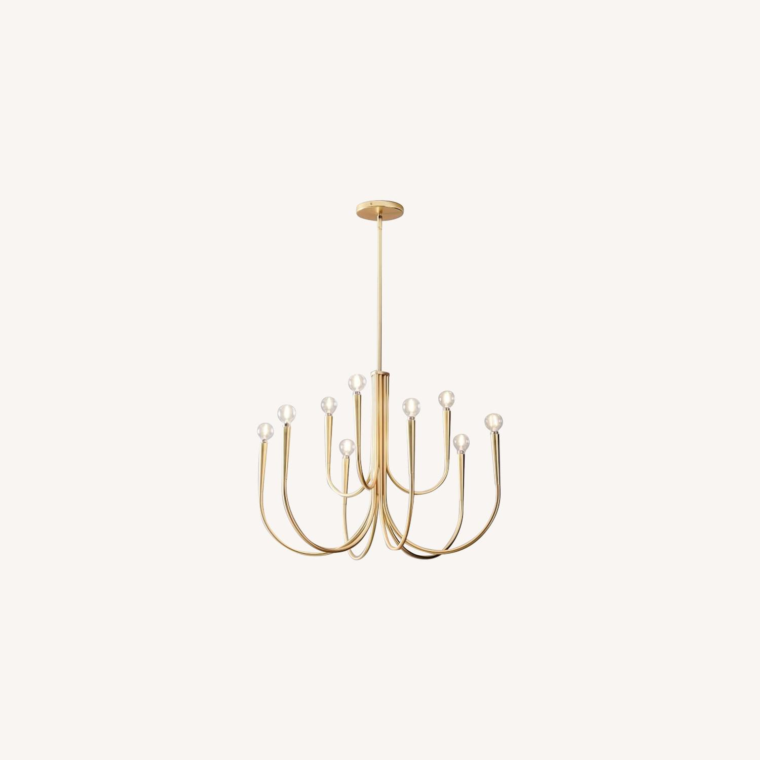 West Elm Swoop Arm Chandelier - image-0