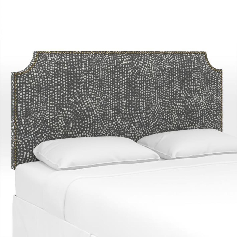 West Elm Serena Upholstered Headboard - image-3
