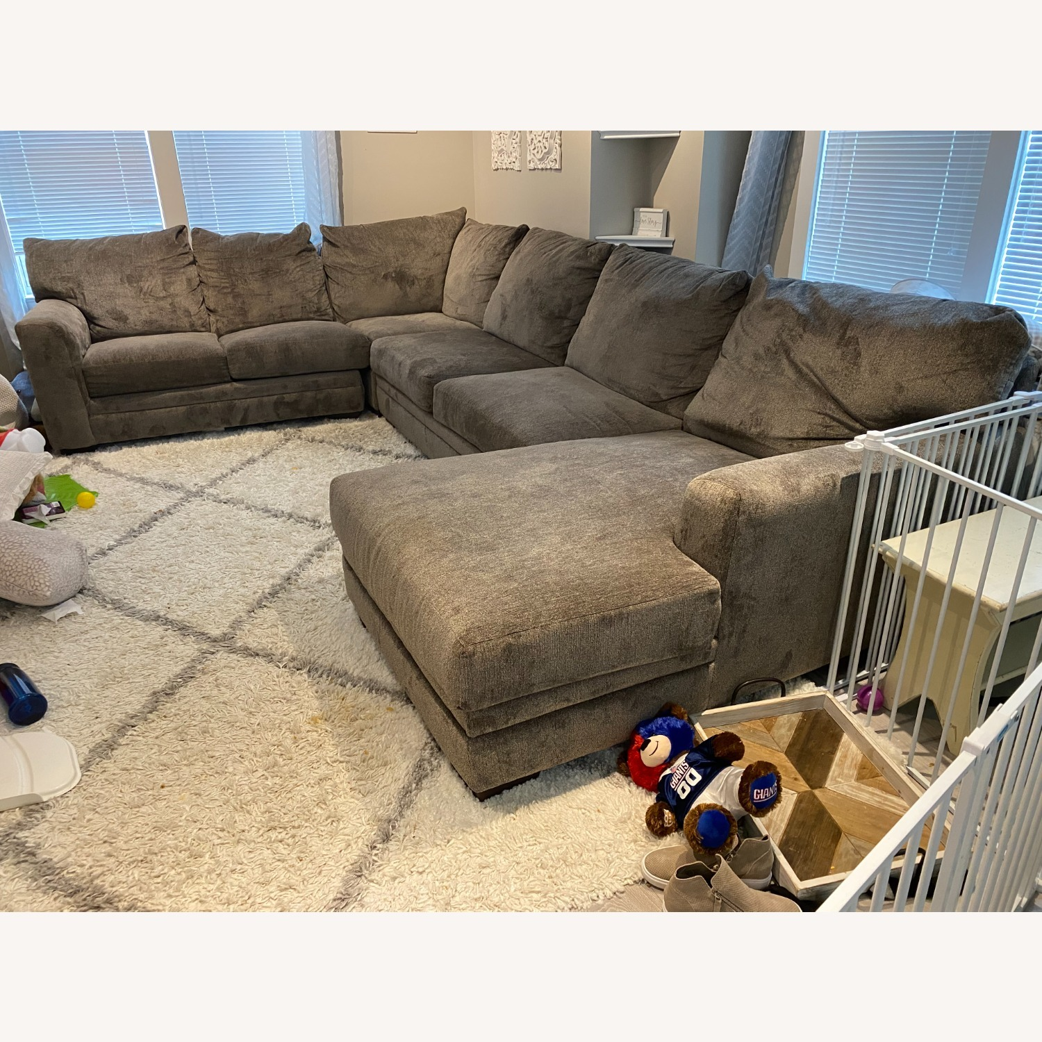 Bob's Discount Furniture Luxe Sectional - image-0