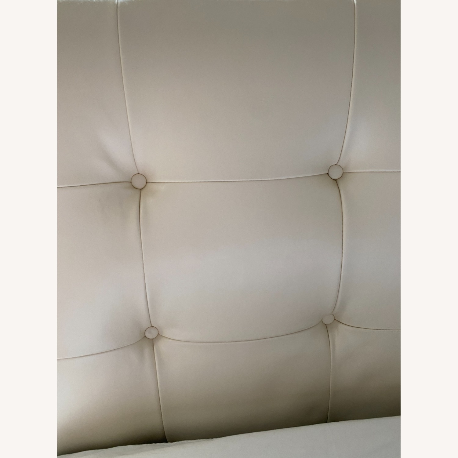 Macy's White Leather Queen Storage Bed - image-4