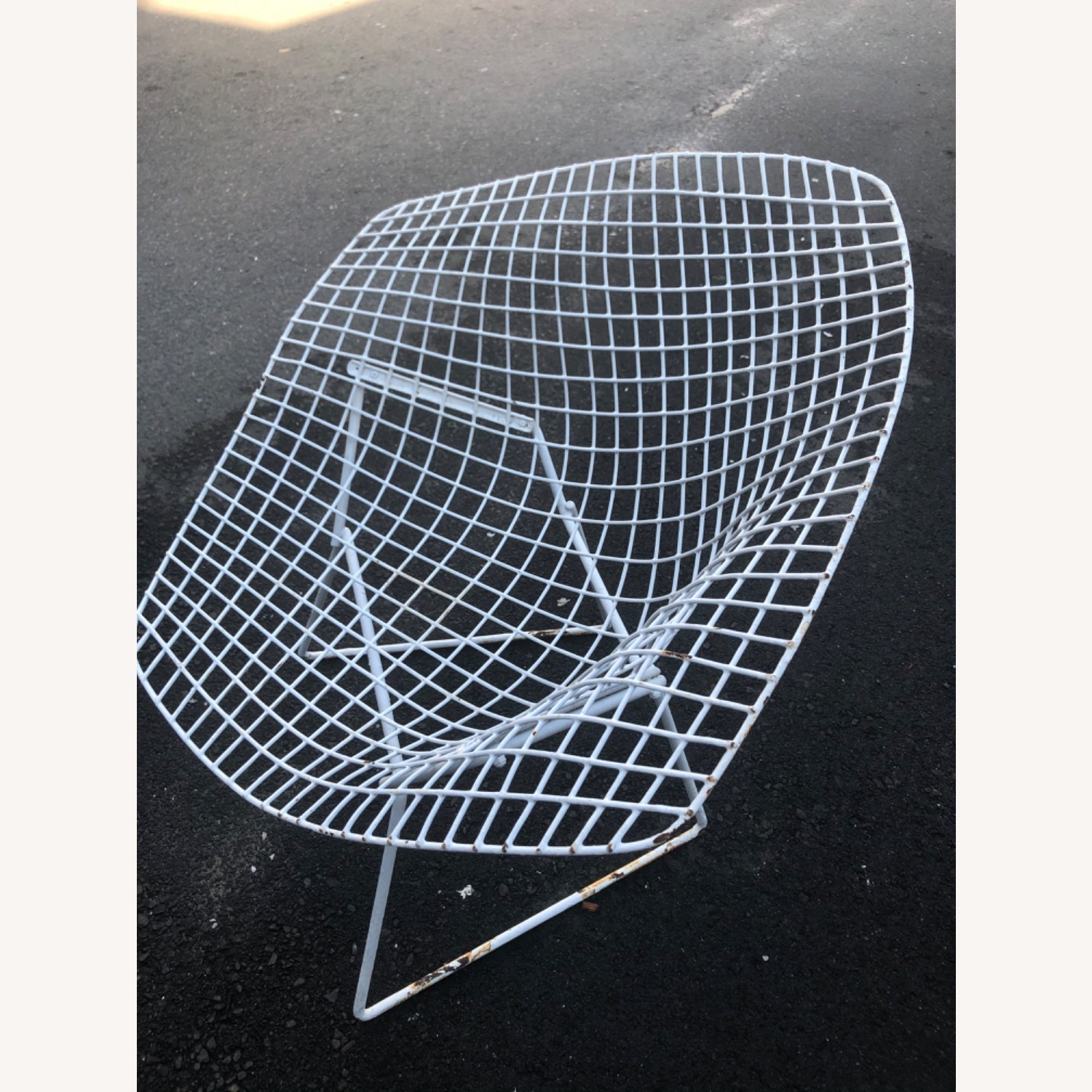 Knoll Patio Pair of Chairs Bertoia - image-2