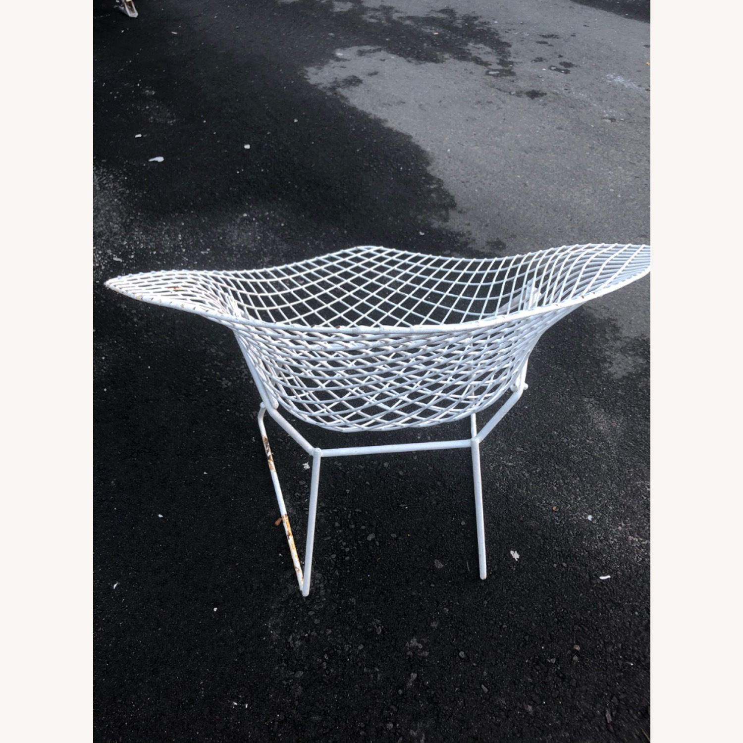 Knoll Patio Pair of Chairs Bertoia - image-3