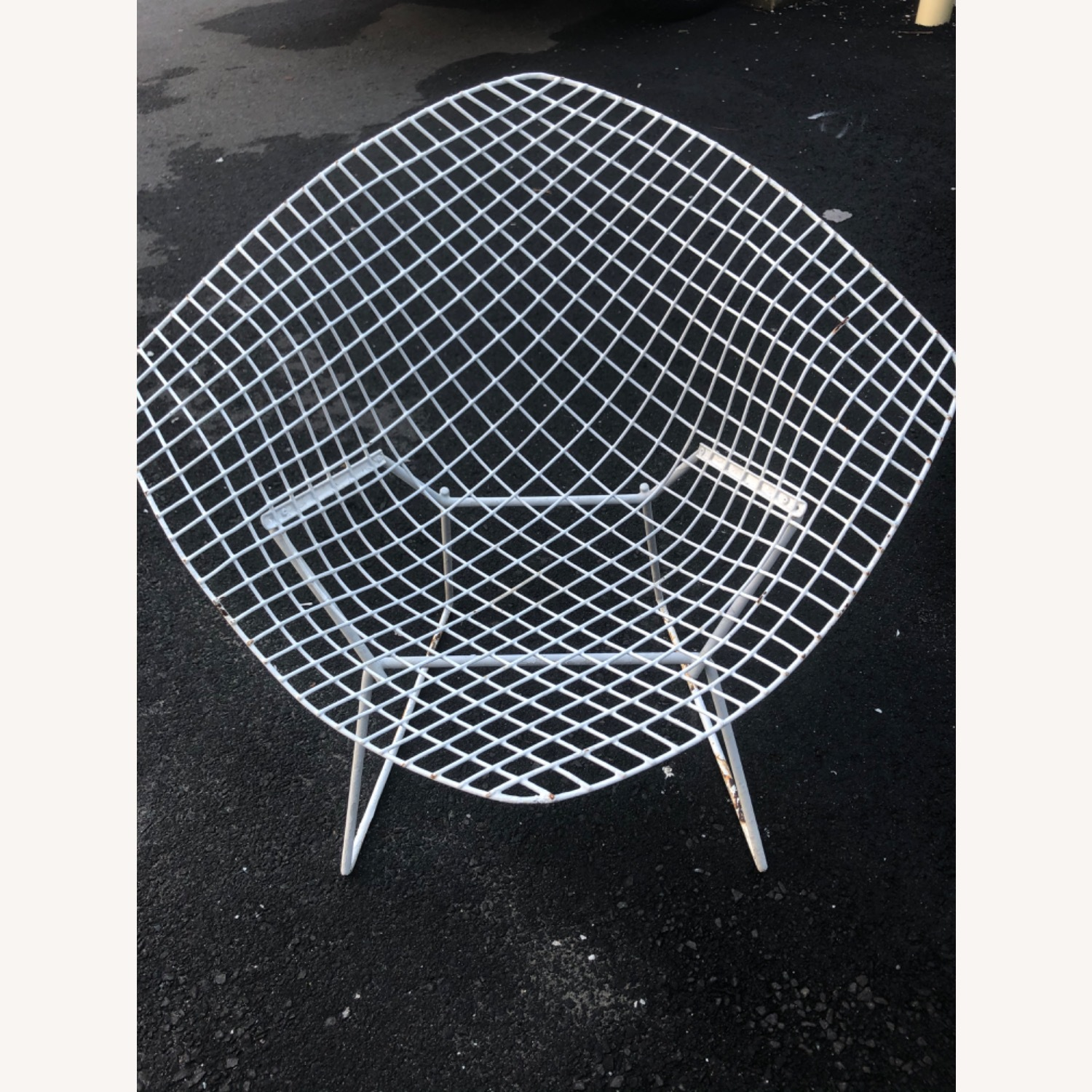 Knoll Patio Pair of Chairs Bertoia - image-1