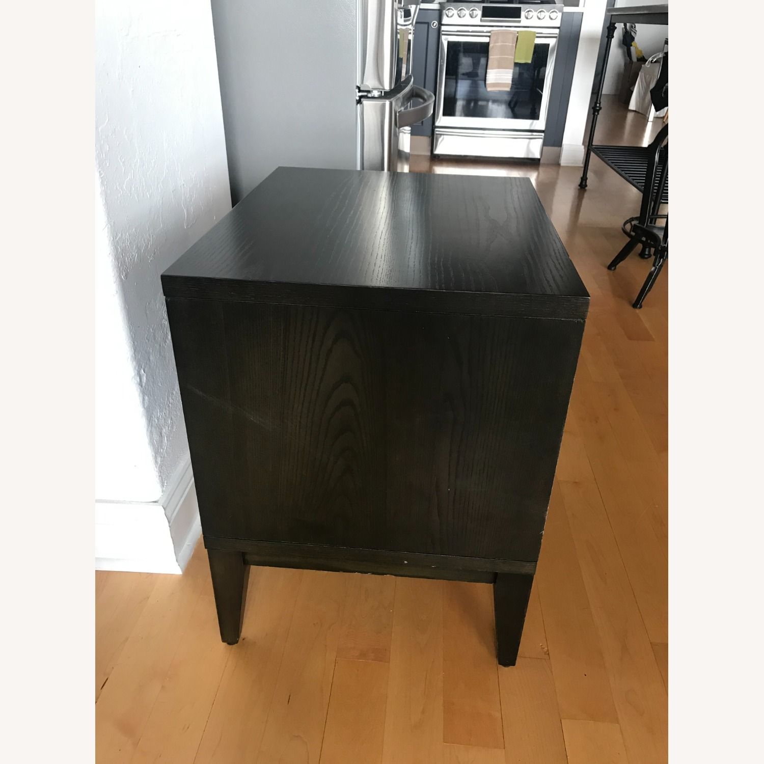 West Elm Chocolate Colored Side Table - image-2
