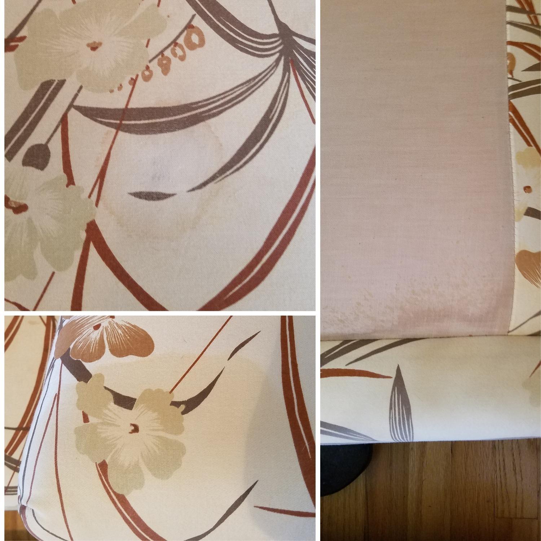 Vintage Boho Rattan Loveseat Settee Sofa - image-2