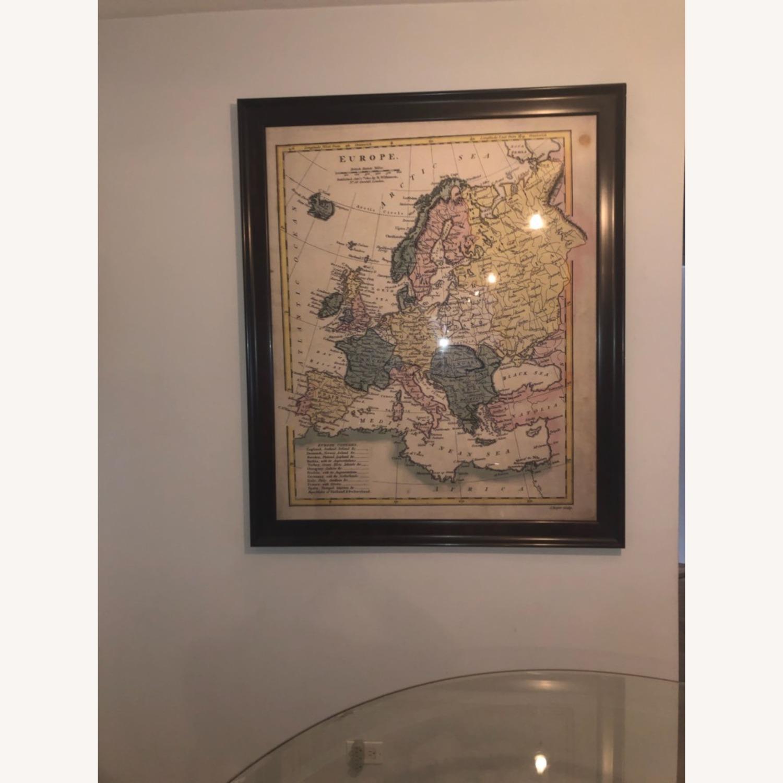 Map of Europe Wall Art - image-2
