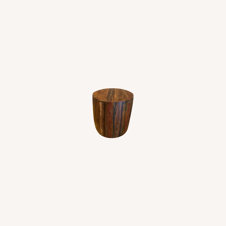 Nadeau Barrel table/stool - image-0