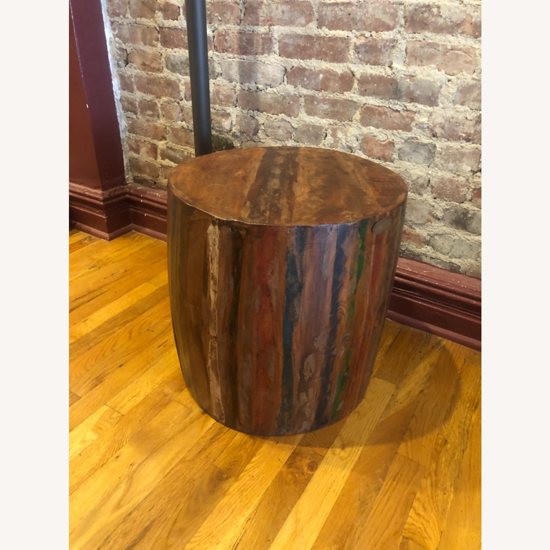 Nadeau Barrel table/stool - image-1