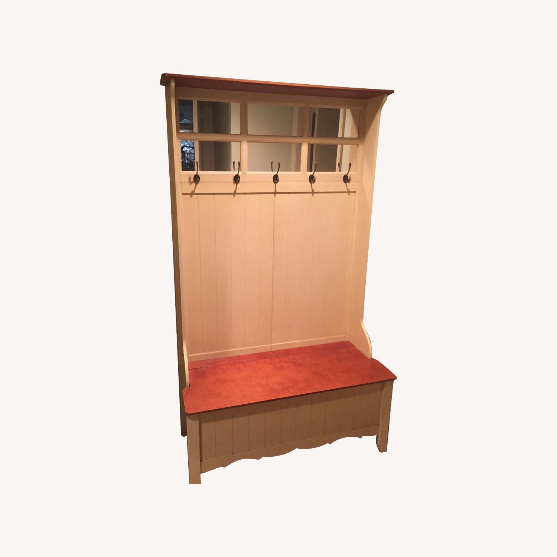 Wooden Storage Chest - image-0