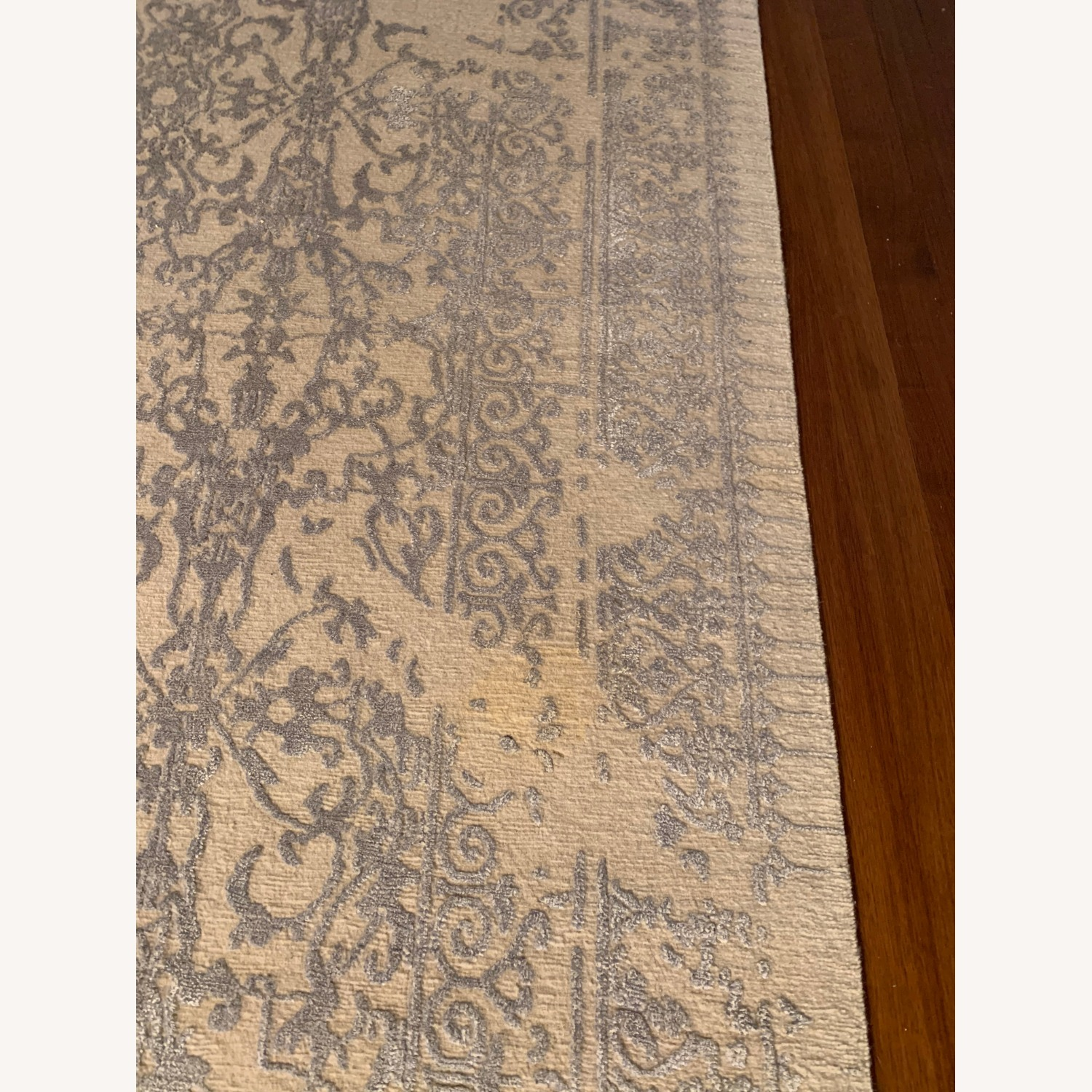 Custom Antique Style Distressed Rug - image-2