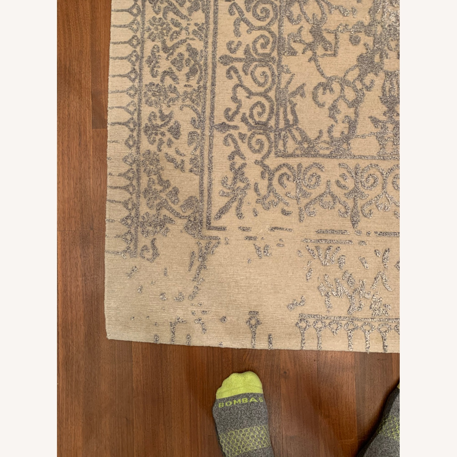 Custom Antique Style Distressed Rug - image-4