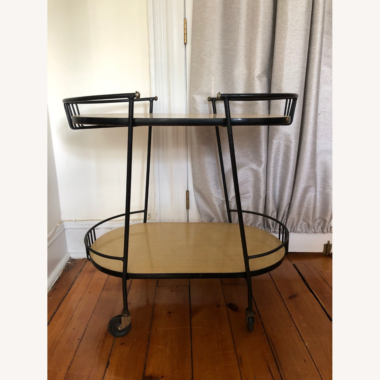 Mid Century Bar Cart - image-1