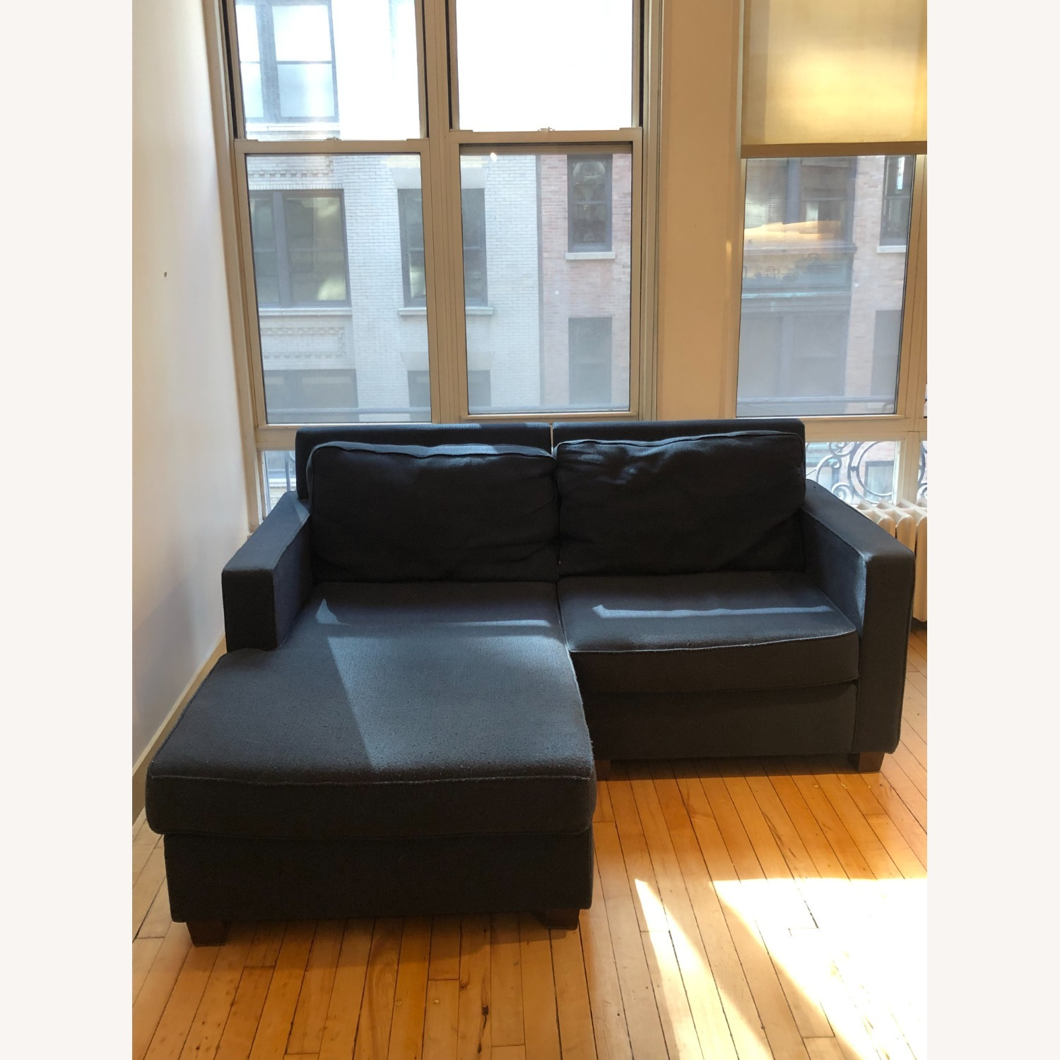 West Elm Henry Nightshade 2-seat Sectional - image-0