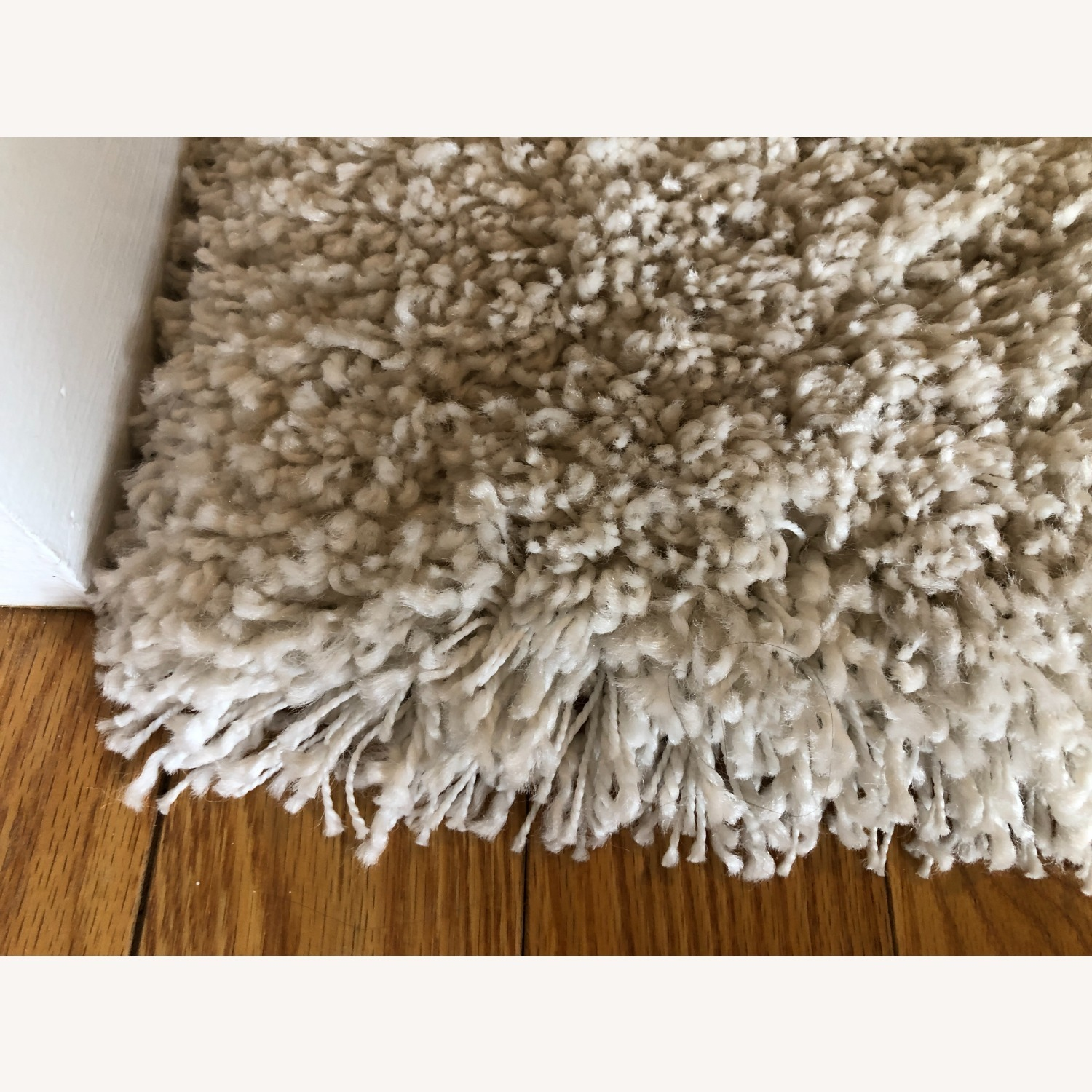 Crate & Barrel Memphis White 5x8' Rug - image-2