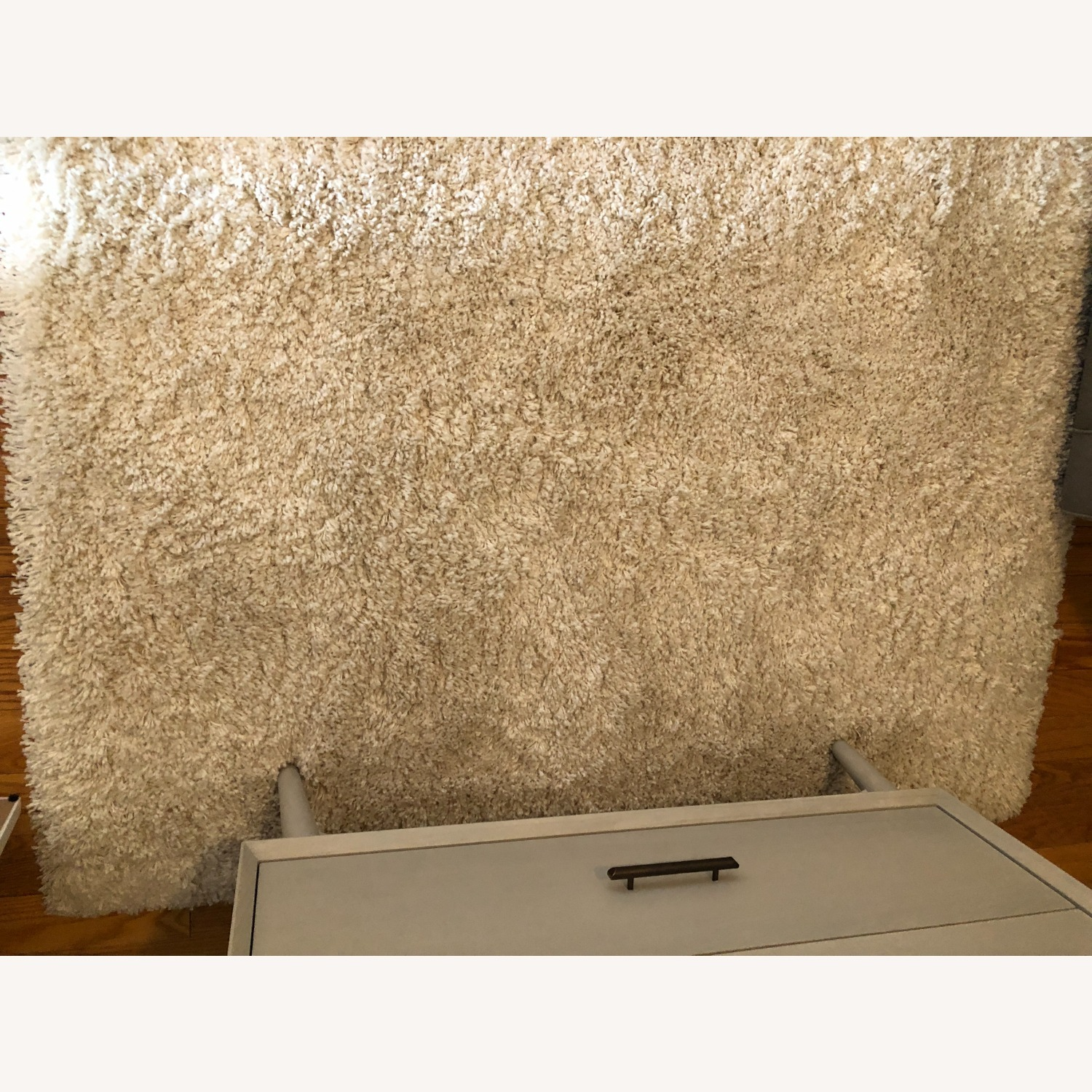 Crate & Barrel Memphis White 5x8' Rug - image-7
