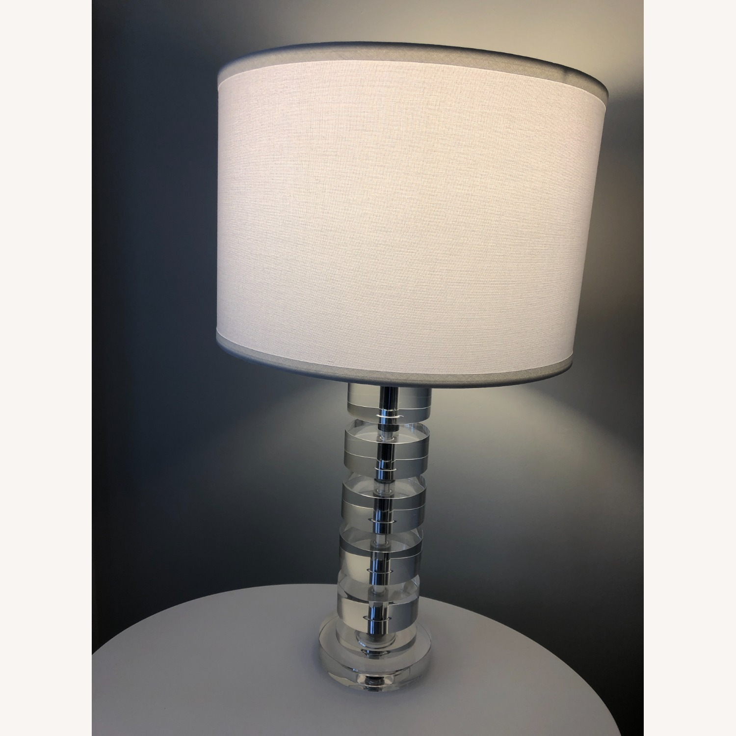 Crate & Barrel Sasha Crystal Table Lamp - image-1