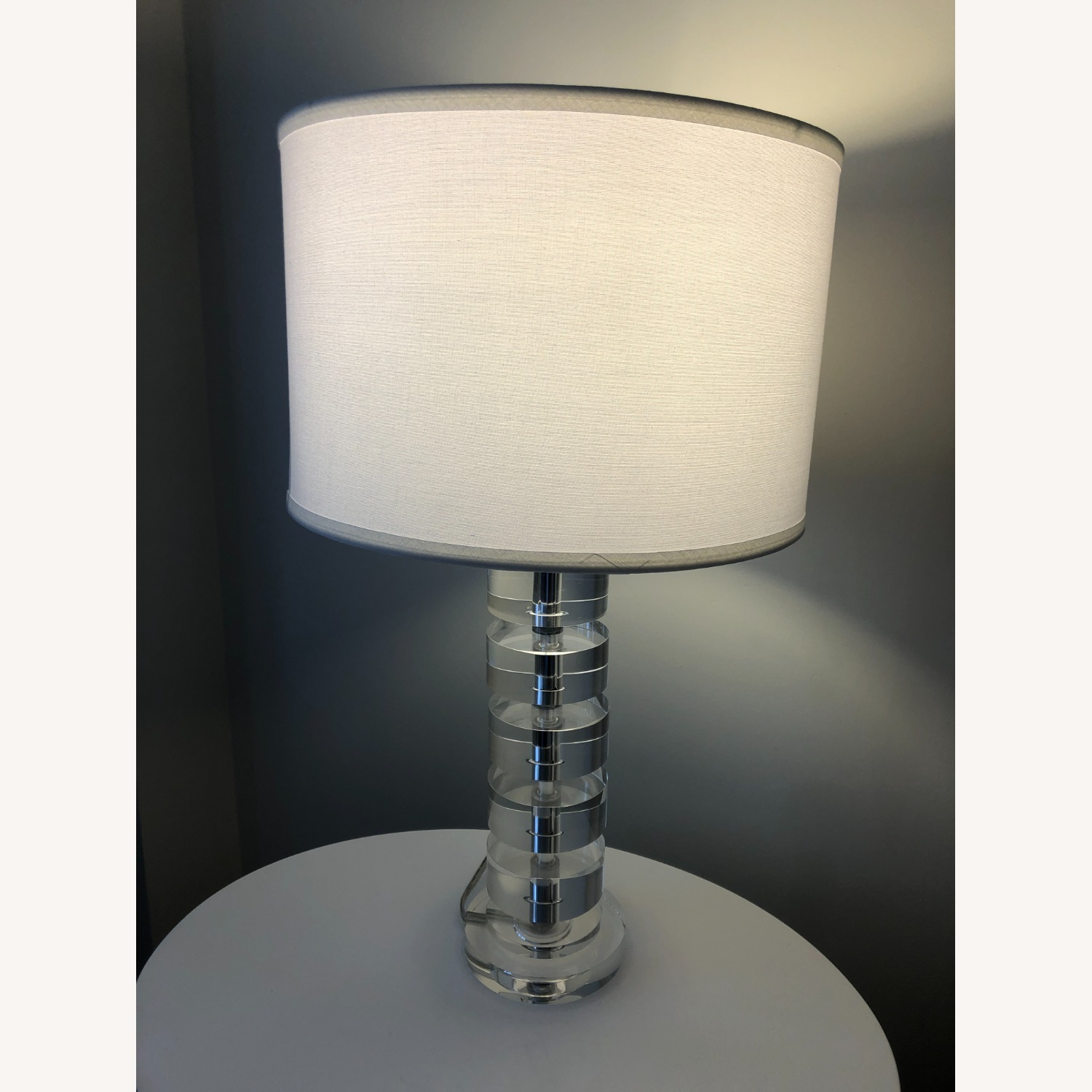 Crate & Barrel Sasha Crystal Table Lamp - image-4