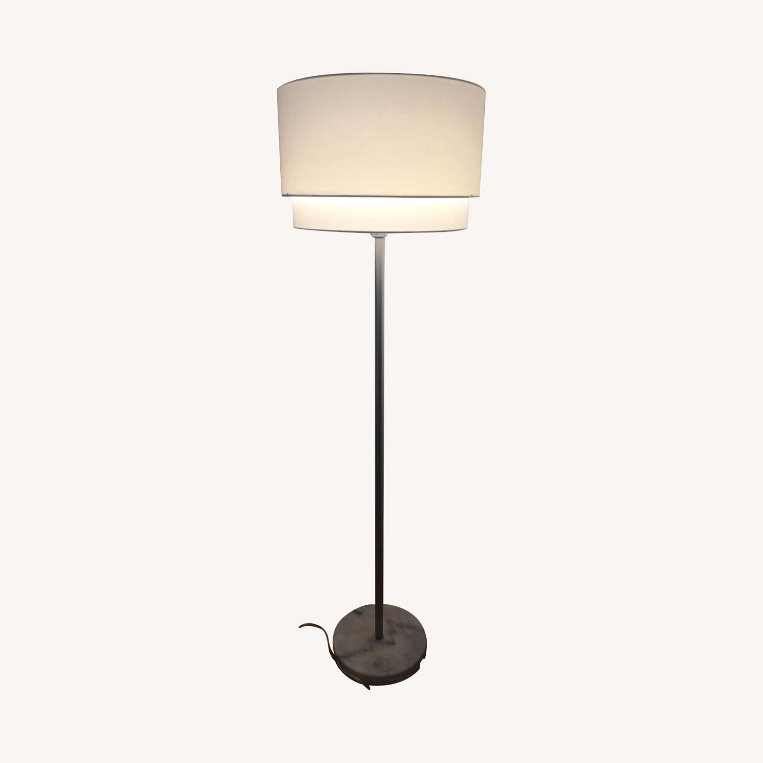 Crate & Barrel Meryl Vertical Floor Lamp - image-0