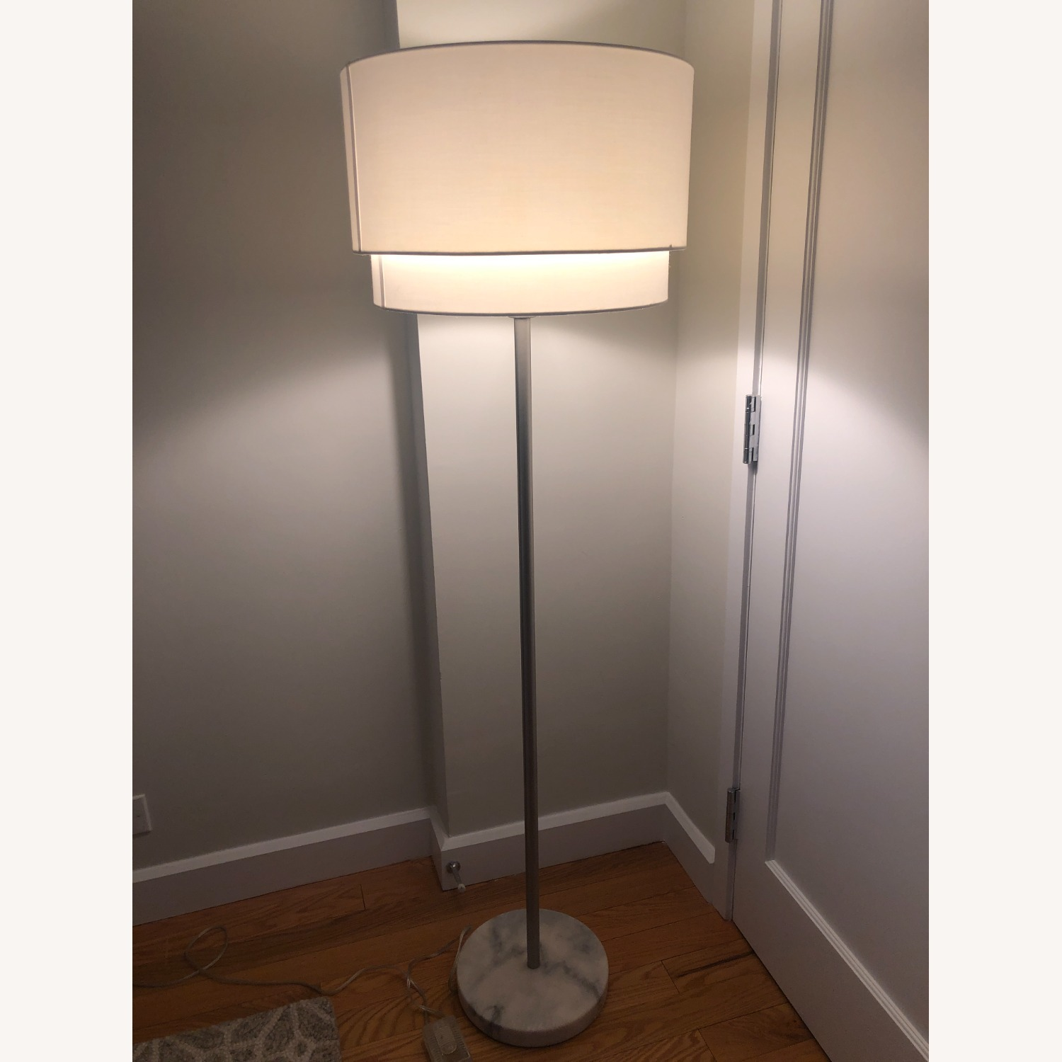 Crate & Barrel Meryl Vertical Floor Lamp - image-3