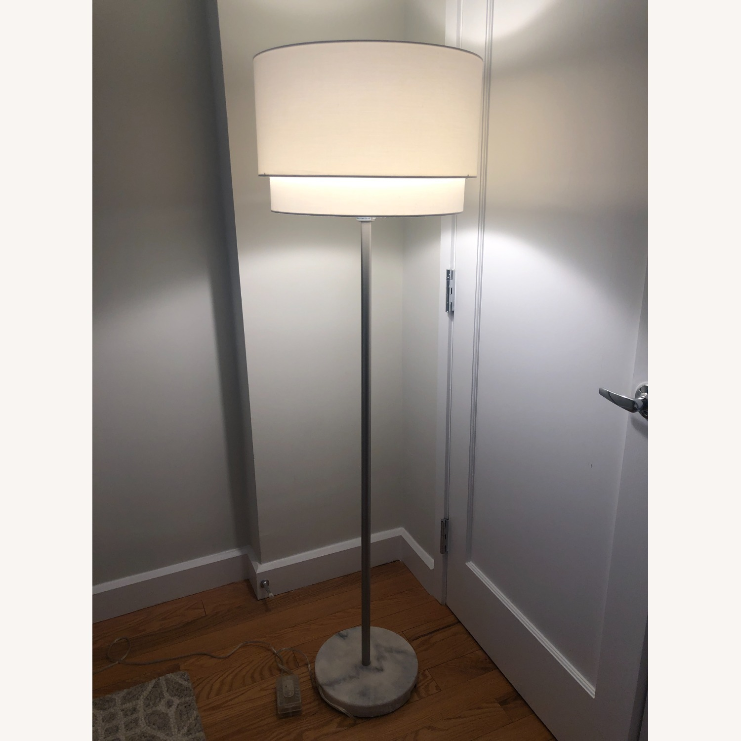 Crate & Barrel Meryl Vertical Floor Lamp - image-1