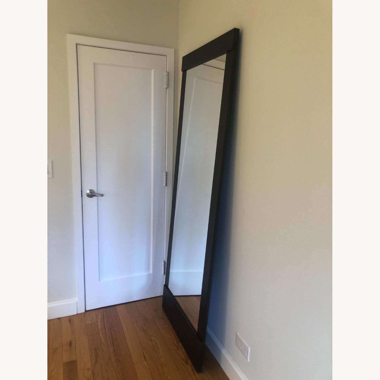 Crate & Barrel Colby Bronze Floor Mirror - image-2