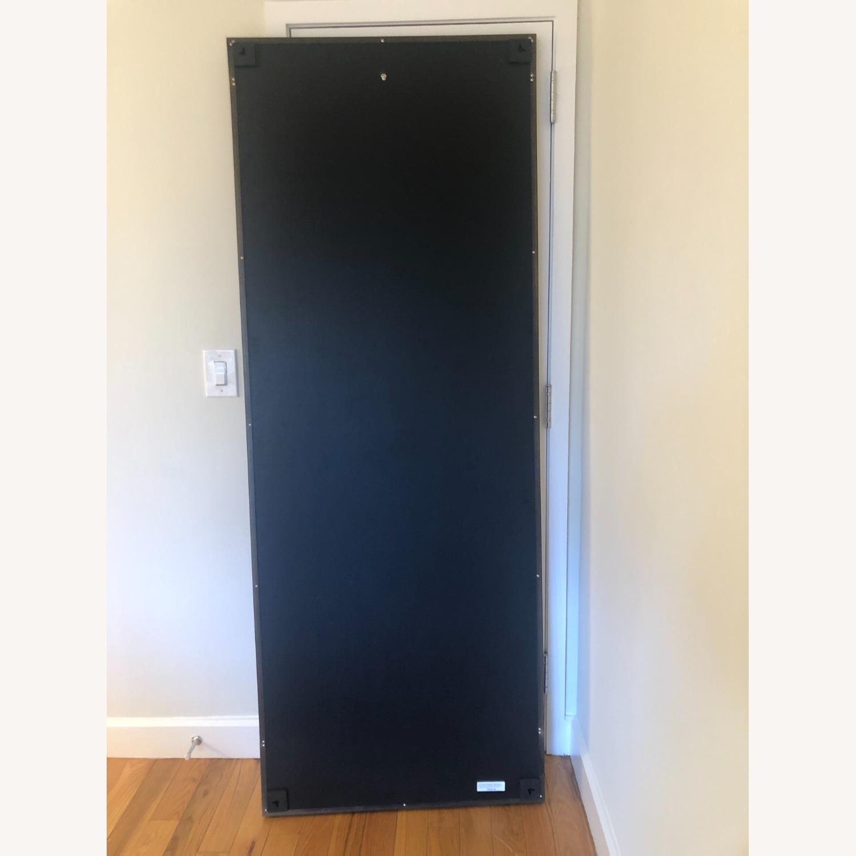 Crate & Barrel Colby Bronze Floor Mirror - image-3