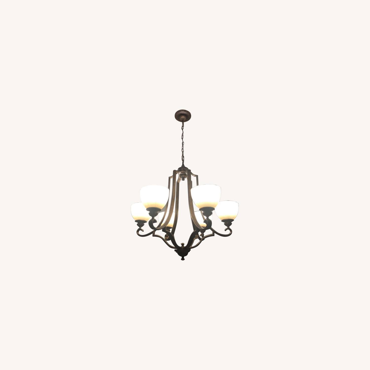 Feiss Chandelier & Lateral Ceiling Lighting - image-0
