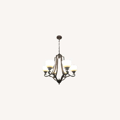 Used Feiss Chandelier & Lateral Ceiling Lighting for sale on AptDeco