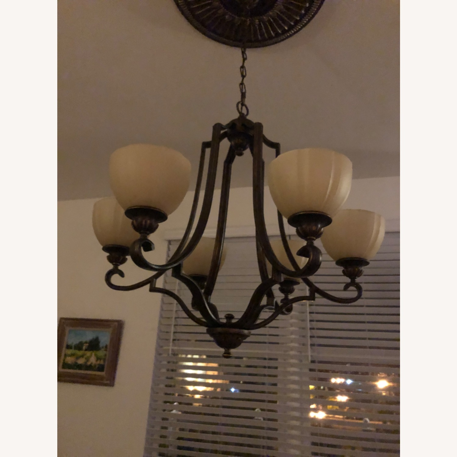 Feiss Chandelier & Lateral Ceiling Lighting - image-3