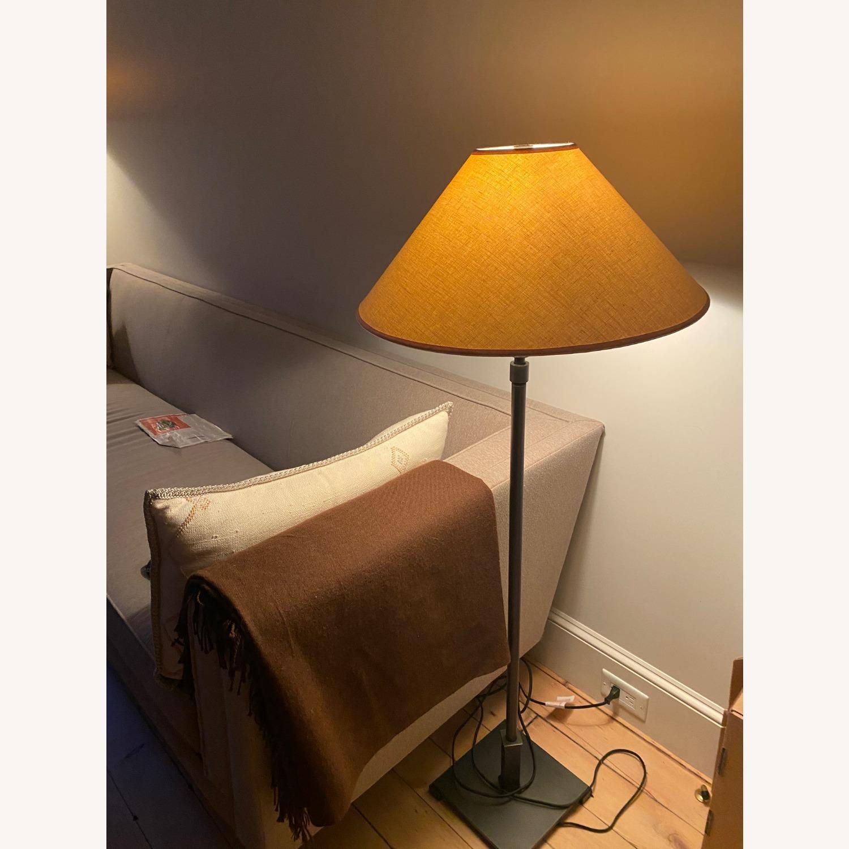 Restoration Hardware Brushed Metal Floor Lamps - image-3
