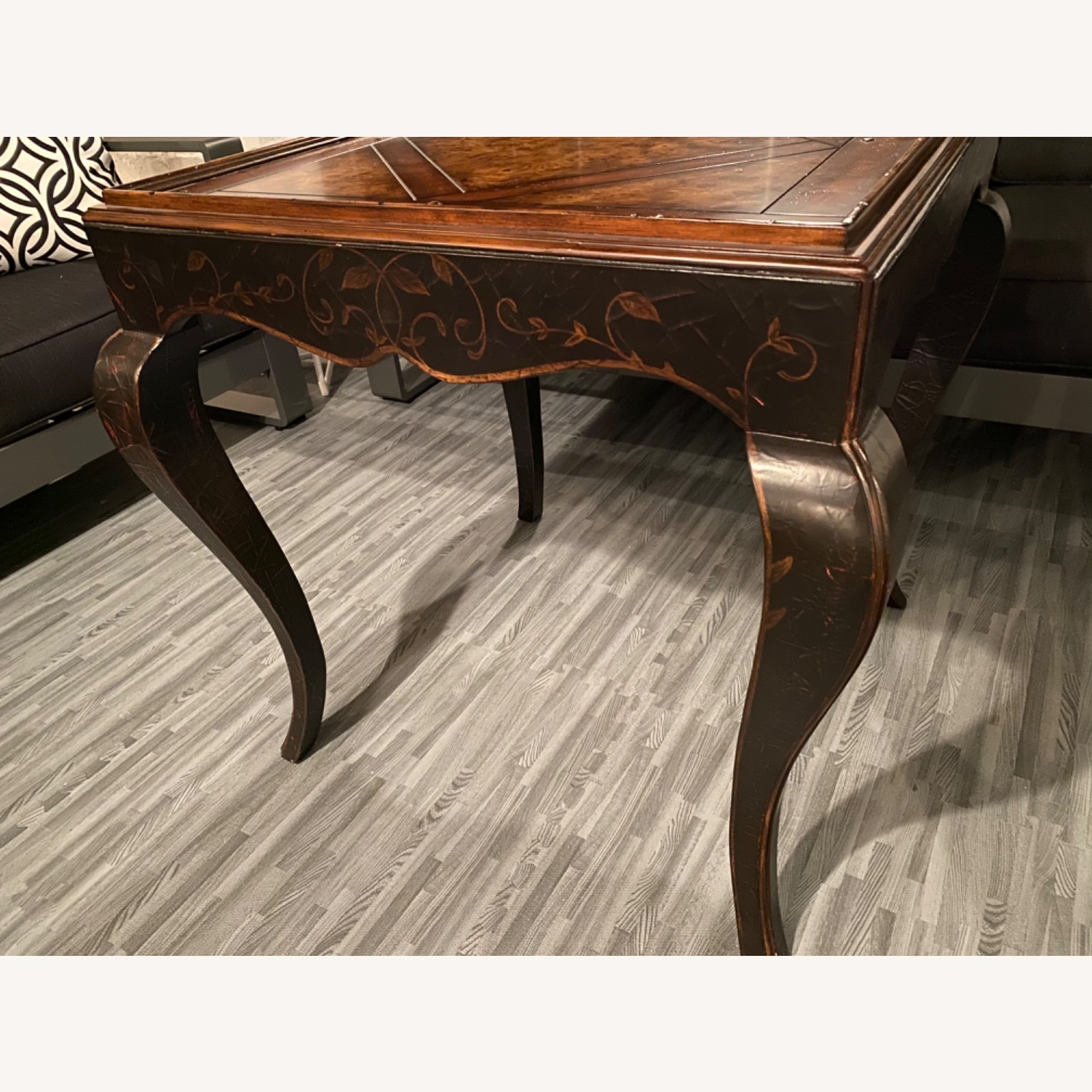Baker Milling Road Chinoiserie Square Side Table - image-2