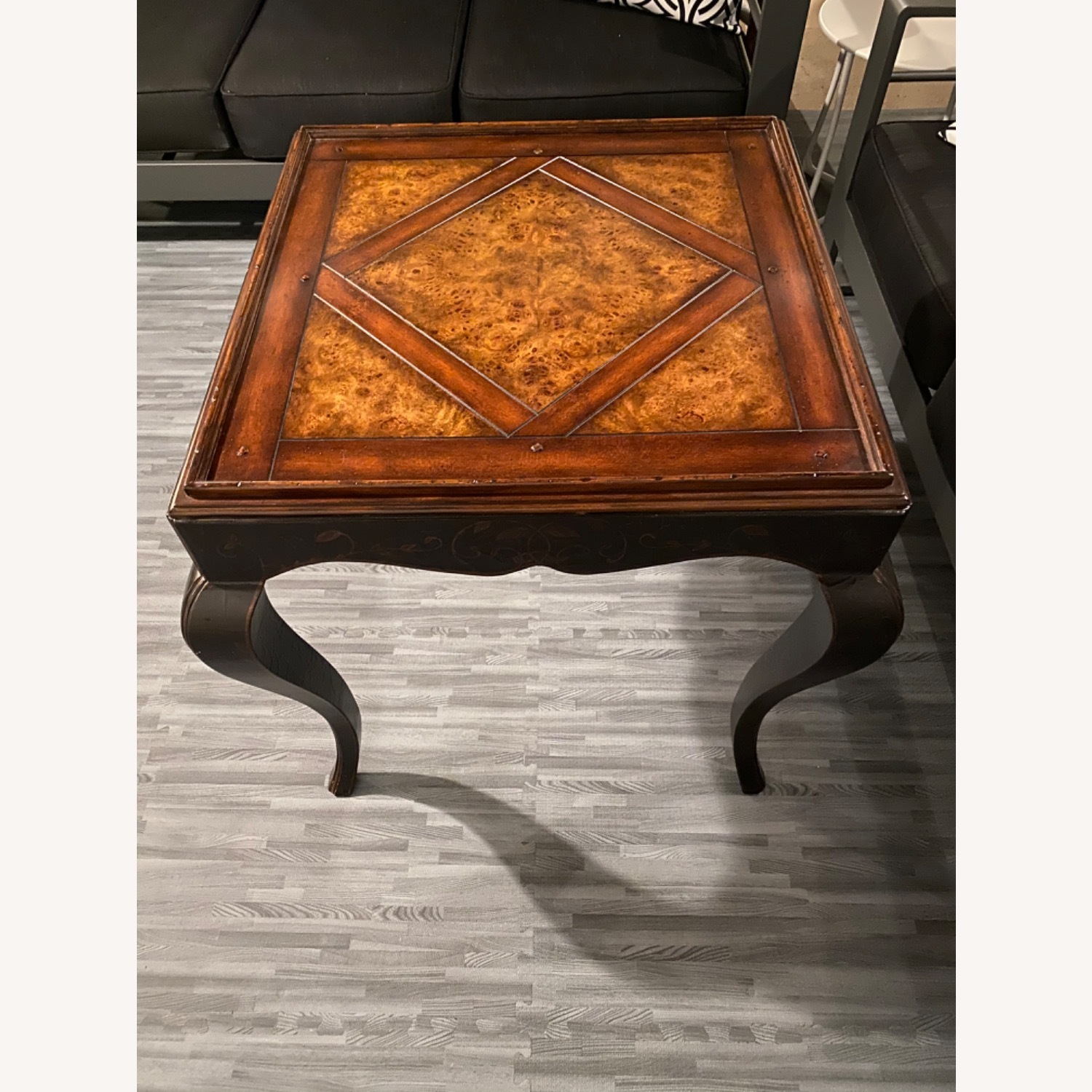 Baker Milling Road Chinoiserie Square Side Table - image-4