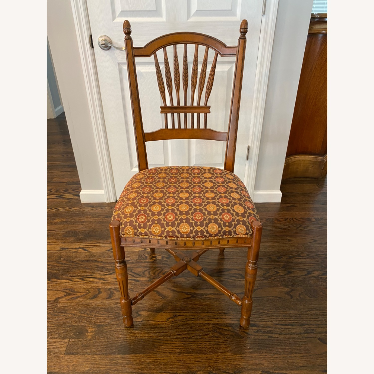 Stickley Wheat Back Dining Chairs set of 6 - image-2