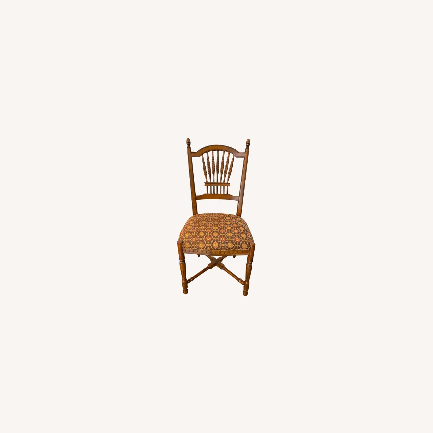 Stickley Wheat Back Dining Chairs set of 6 - image-0