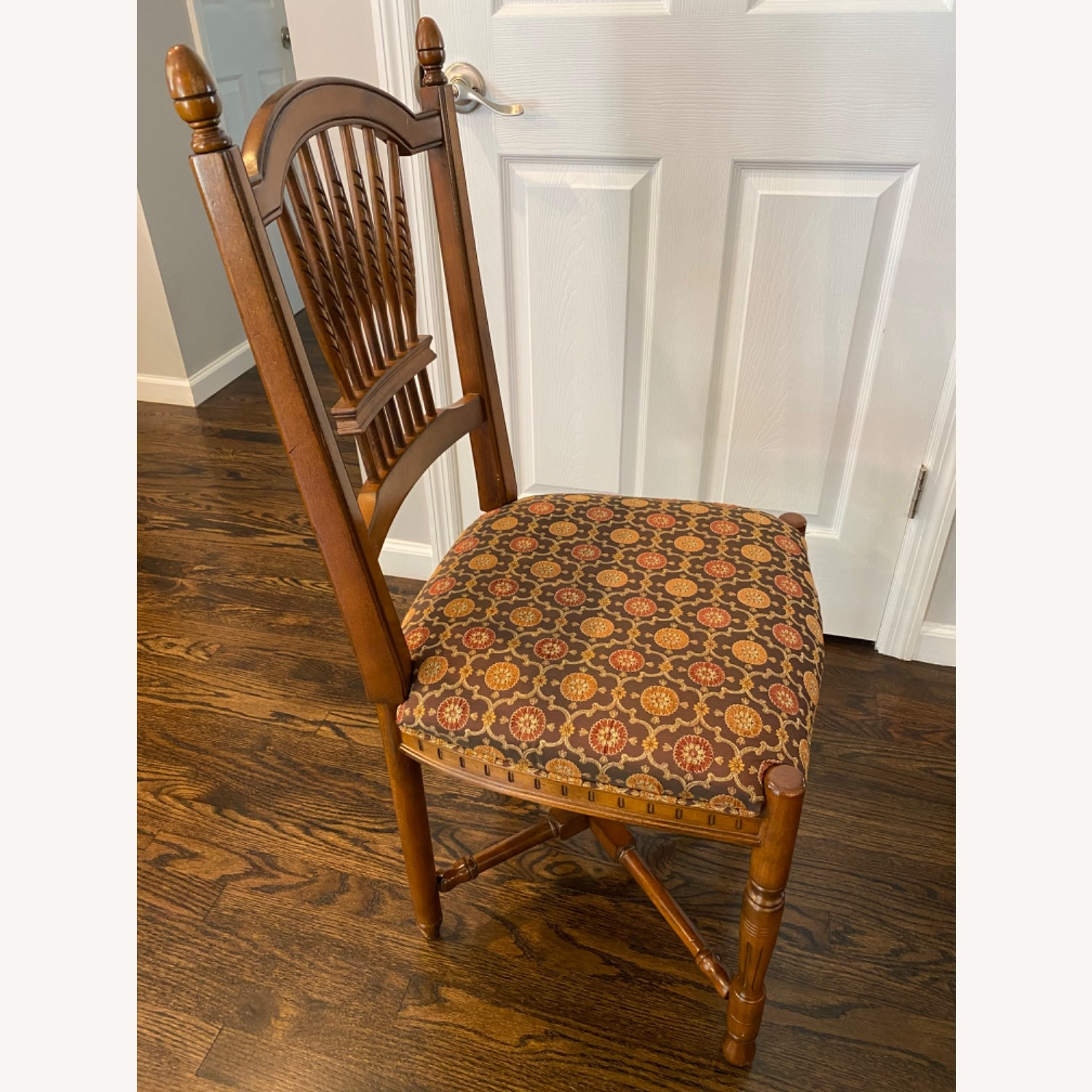 Stickley Wheat Back Dining Chairs set of 6 - image-5