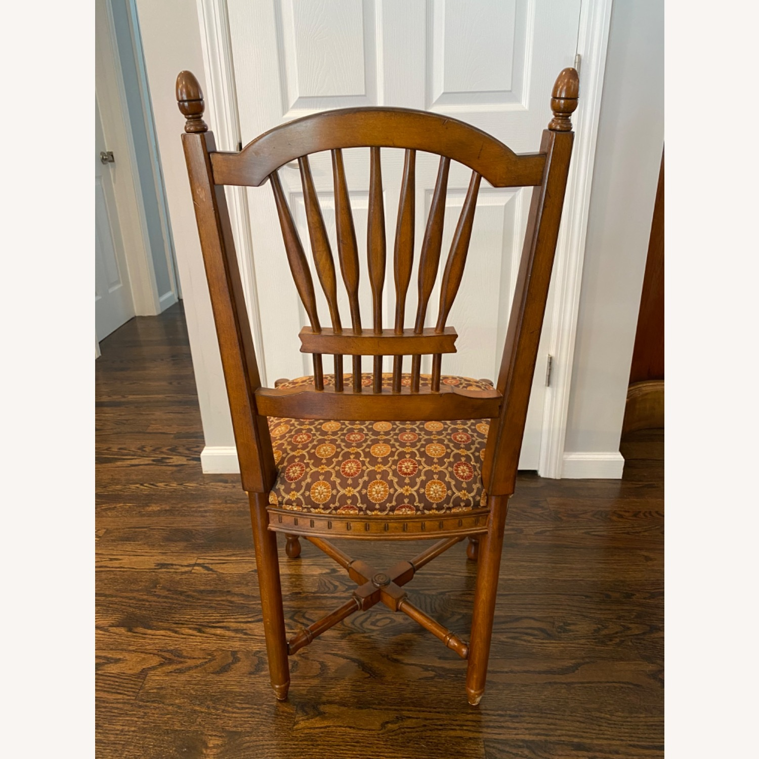 Stickley Wheat Back Dining Chairs set of 6 - image-6