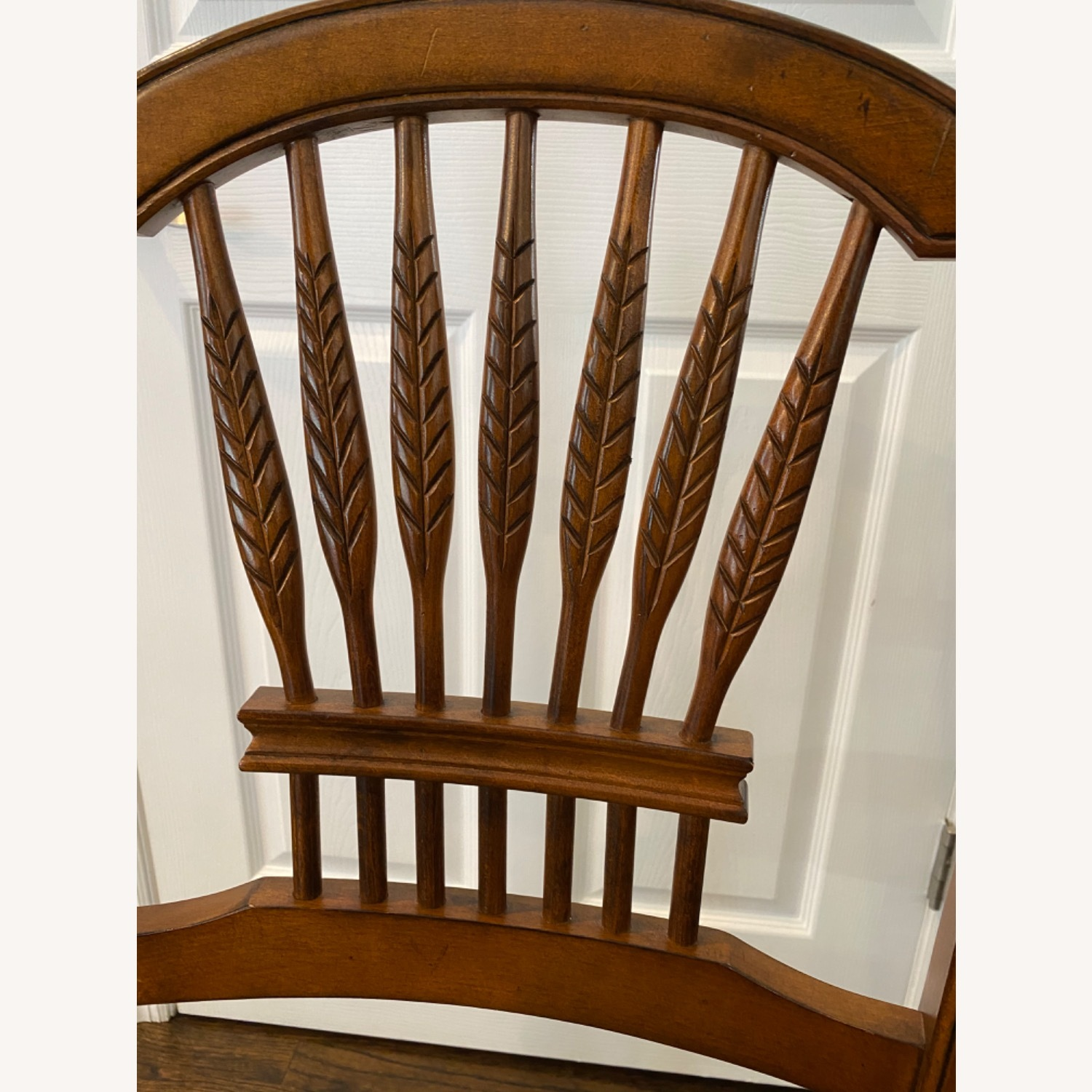 Stickley Wheat Back Dining Chairs set of 6 - image-4
