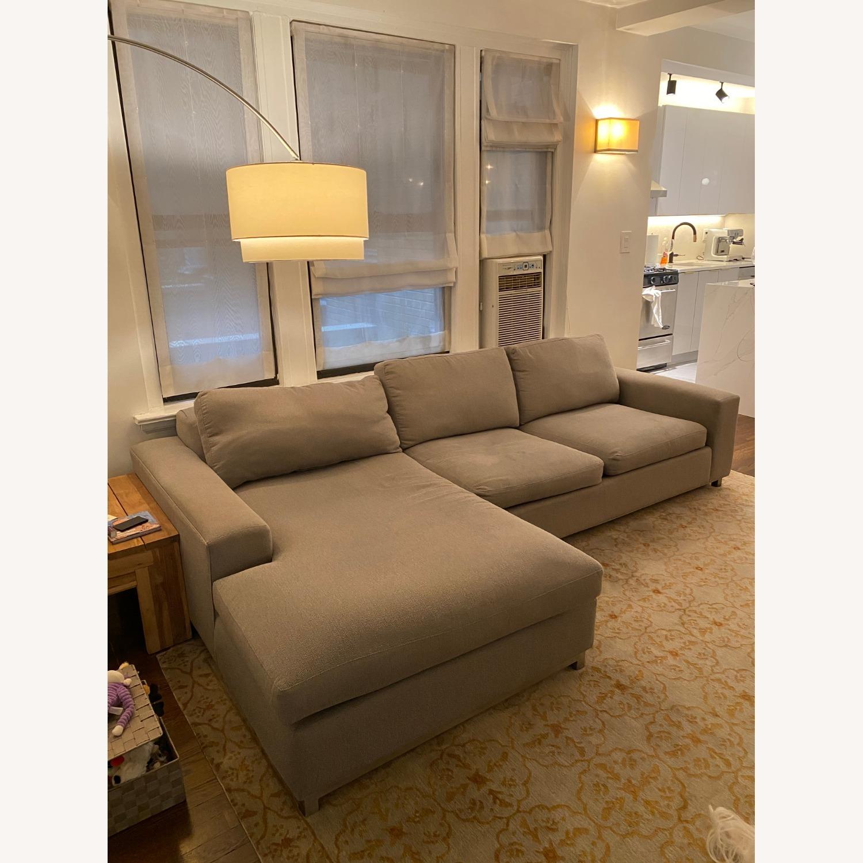 Room & Board 2 Piece Sectional Sofa - image-1